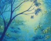 Blue Forest No 4 12x12