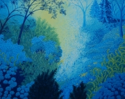 Blue Forest No 3 48x36