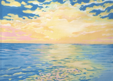 Lake Michigan Sunrise 5x7