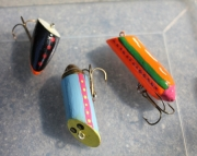 Wall-I-Wobbler 3 Handmade Fishing Lure
