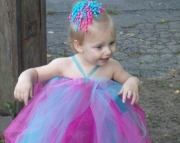 Blue and Pink Baby/Toddler Tutu Dress