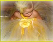 Yellow Rose Girls Tutu Dress
