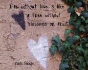 Grafitti Hearts Print-Gibran