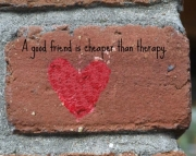Grafitti Hearts Print- cheaper than therapy