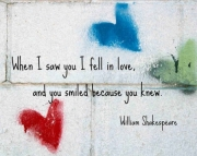 Grafitti Hearts Print- Shakespeare