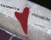 Grafitti Hearts Print-mauriac