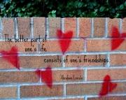Grafitti Hearts Print-Lincoln