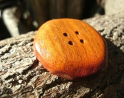 Handmade Wood Button