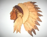 Indian Head Wall hanging