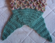 newborn mermaid tail and top