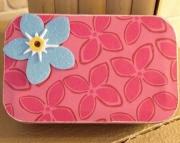 Tropical Flower Storage  Treasure Box