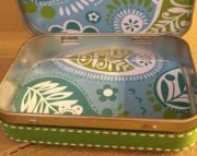 Perfectly Paisley Storage  Treasure Box