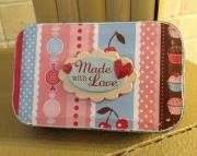 Made with Love Storage  Treasure Box