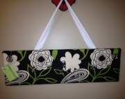 Floral Print Accessory Organizer