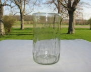 1 Recycled Glass Tumbler From Crush Soda Bottle