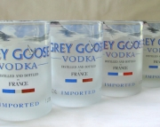 Grey Goose Recycled Glass Tumblers