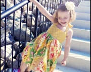 Garden party bubble dress