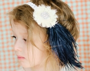 Vintage Feather Headband