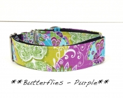 Martingale  Butterflies Purple