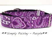 Martingale - Paisley - Simply Purple