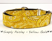 Martingale - Paisley - Yellow Gold