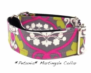 Dog Martingale Collar Petunia