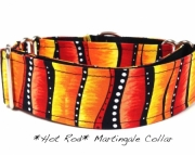 Dog Martingale Collar  HOT ROD