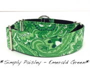Martingale - Paisley - Emerald Green