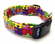 Dog Collar  Autism Awareness