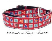 Martingale - Nautical Flags - Red
