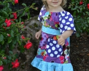 Bloom Pocket Peasant Dress Size 2t to Size 6
