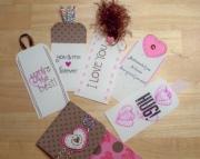 LOVE Chocolate And Hearts PocketCard