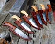 Knife Sets for Groomsmen, Custom Made in Eaton Rapids