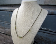 Mint Minimalist Beaded Chain