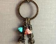 Bonjour. Paris Charm Trinket Necklace