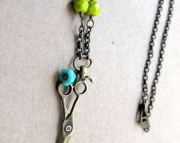 Crafty Artisan Shears Necklace