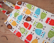 OWLS Fabric Plastic Bag Holder and Dispenser