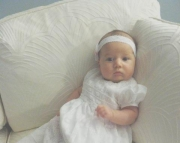 Custom Made Christening Gown