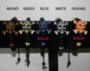 Beaded skull bracelets