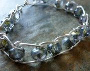 Crystal Ladder Bracelet