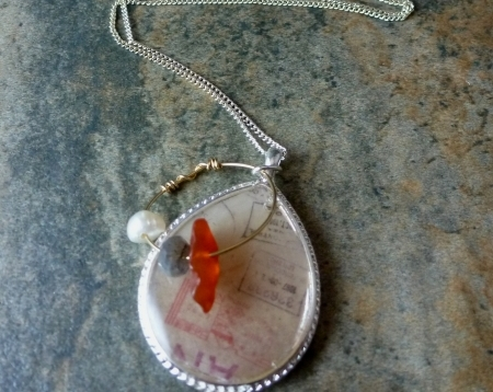 Travel Afar Necklace - Carnelian