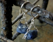 Lapis Trapeze Earrings
