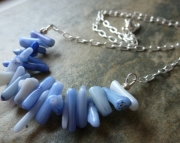 Blue Coral Necklace