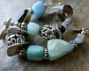 Blue Nugget Bracelet