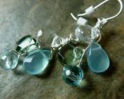 Jeweled Drop Earrings