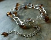 Coffee Twist Necklace