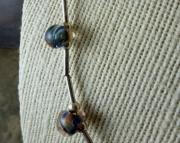 Blue Boro Necklace