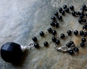 Simple Black Necklace