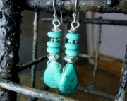 Turquoise Stack Earrings
