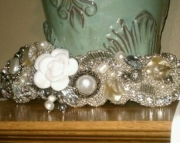 Bead Embroidery Bracelet - Shimmer